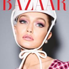 МАКІЯЖ З ОБКЛАДИНКИ: Gigi Hadid Harper's Bazaar