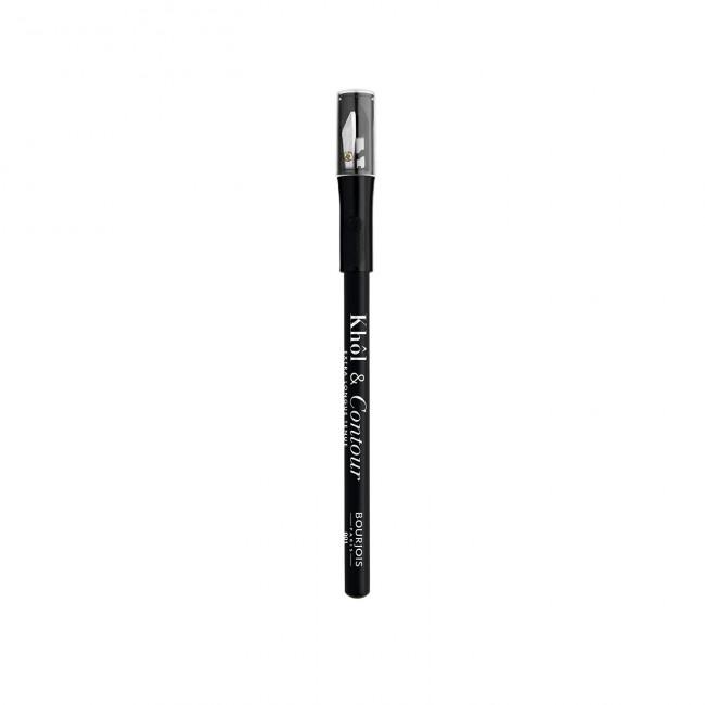 BOURJOIS Олівець для очей KHOL CONTOUR з точилкою, чорний