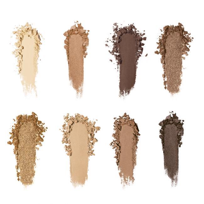 BOURJOIS Палетка для макияжа глаз 4in1 EYE PALETTE №002 Chocolate Nude