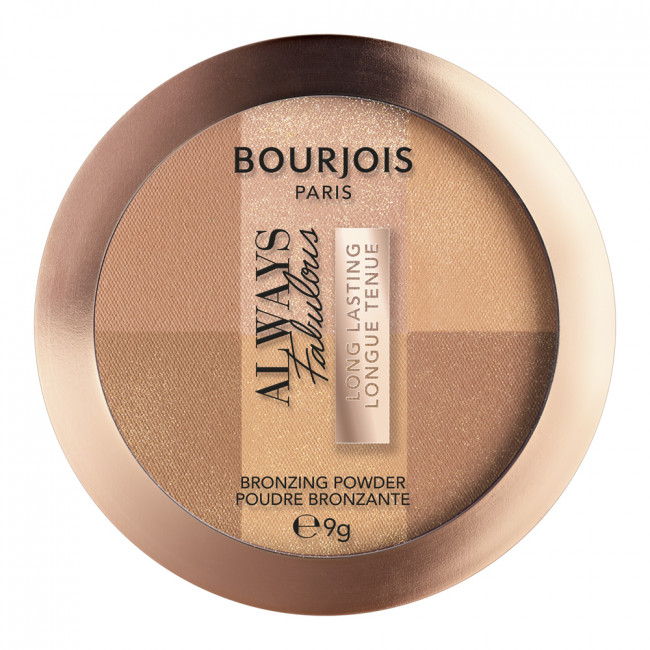 BOURJOIS Пудра бронзуюча ALWAYS FABULOUS №001, 9г