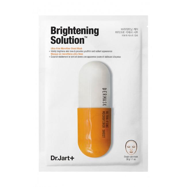 DR.JART+ Маска тканевая Dermask Micro Jet Brightening Solution осветляющая, 28 г.