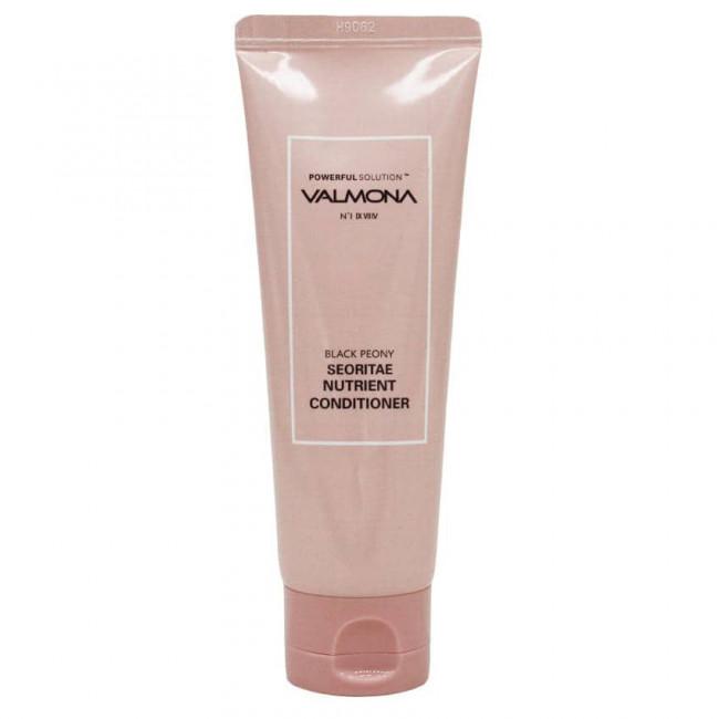 VALMONA Кондиционер для волос Powerful Solution Black Peony Seoritae Nutrient Conditioner питательный с экстрактом черных бобов, 100мл
