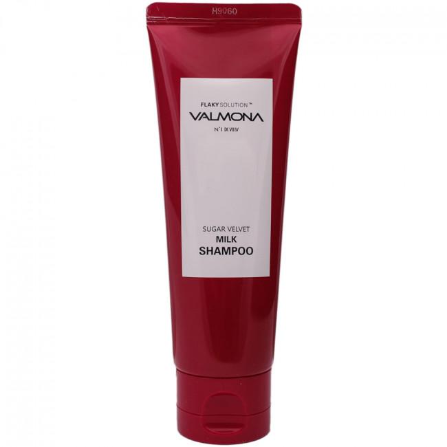 VALMONA Шампунь для волос Sugar Velvet Milk Shampoo с комплексом из молока и экстрактов ягод, 100мл