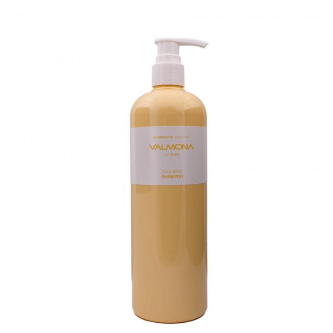 VALMONA Шампунь для волос Nourishing Solution Yolk-Mayo Shampoo питательный, 480мл