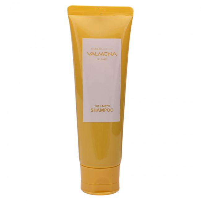 VALMONA Шампунь для волос Nourishing Solution Yolk-Mayo Shampoo питательный, 100мл