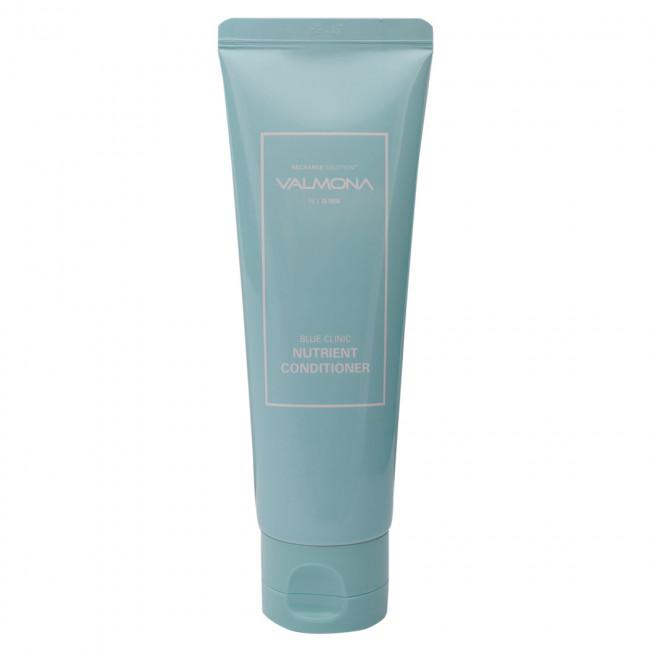 VALMONA Кондиционер для волос Recharge Solution Blue Clinic Nutrient Conditioner увлажняющий, 100мл