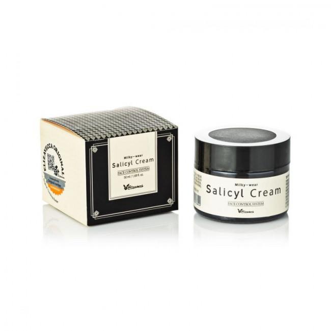 ELIZAVECCA Крем для обличчя Sesalo Salicyl Cream саліциловий з ефектом пілінгу, 50мл