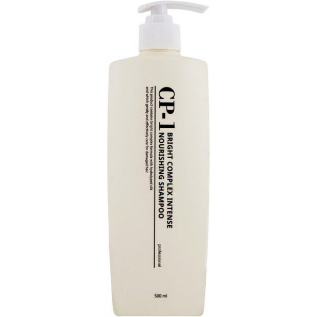 ESTHETIC HOUSE Шампунь для волос CP-1 Bright Complex Intense Nourishing Shampoo с кератином, коллагеном и шелком, 500мл