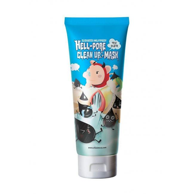 Elizavecca Маска пленка Hell pore clean up mask, 100ml