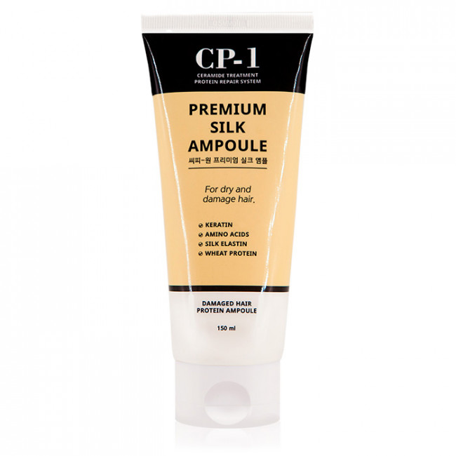 ESTHETIC HOUSE Сыворотка для волос CP-1 Premium Silk Ampoule восстанавливающая с протеинами шелка, 150 мл