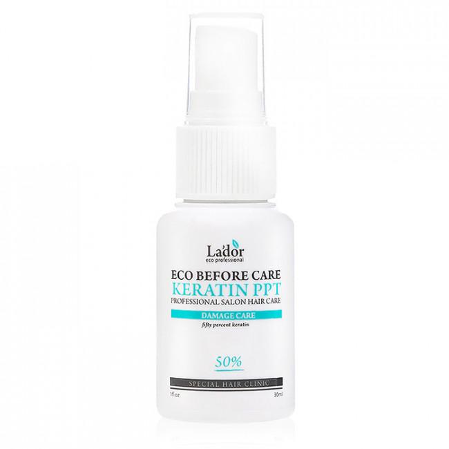 LADOR Кератиновий захист волосся Lador Eco Before Care Keratin Ppt під час фарбування 30мл.