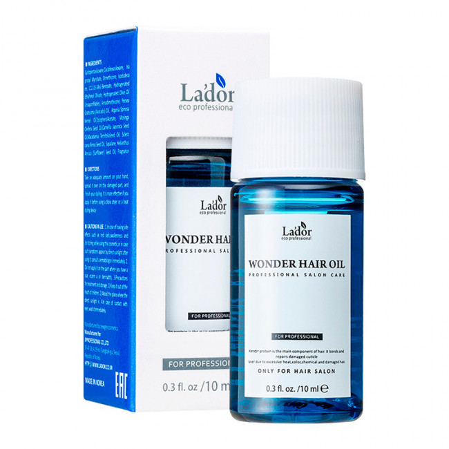 LADOR Масло увлажняющее Lador Wonder Oil для поврежденных волос 10мл.