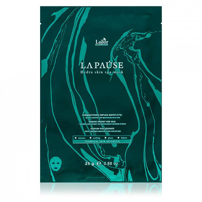 LADOR Маска тканевая Lador LAPAUSE Hydra Skin Spa Mask для лица со спа-эффектом 25г.