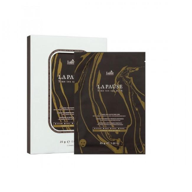 LADOR Маска тканевая для лица Lador La-Pause Time Tox SPA Mask 25г.