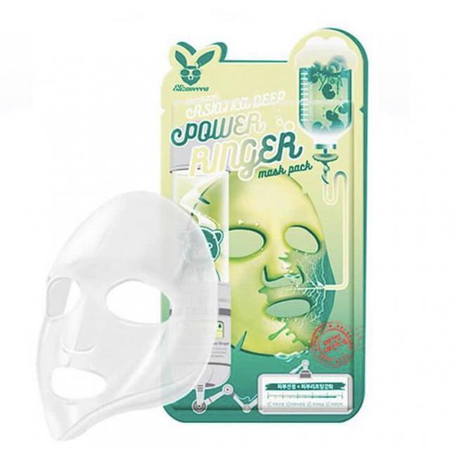 ELIZAVECCA Маска тканинна Face Care Centella Asiatica Deep Power Ringer Mask з екстрактом центелли, 23мл