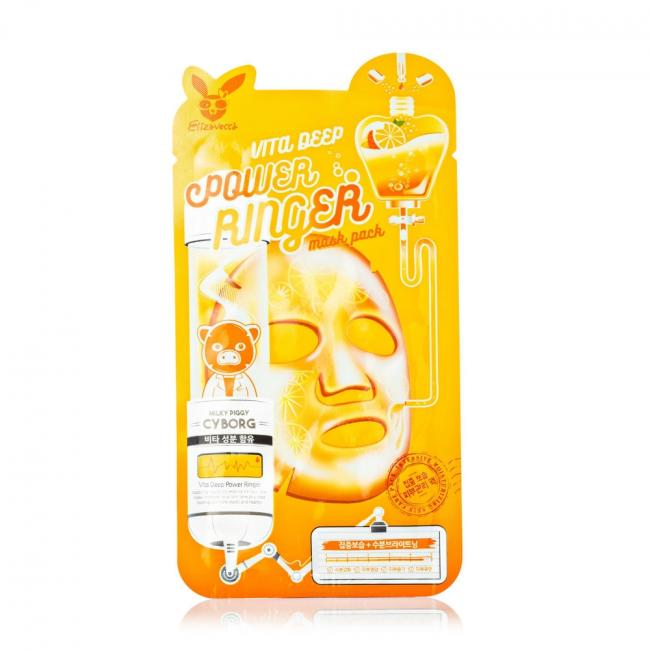 ELIZAVECCA Маска-ліфтинг Face Care Honey Deep Power Ringer Mask медова, 23мл