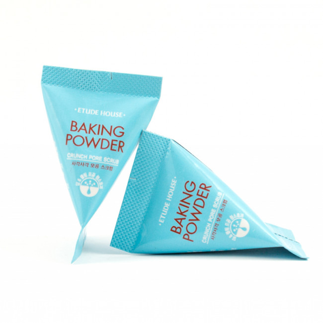 Etude House Скраб для очищения кожи лица Baking Powder Crunch Pore Scrub с пищевой содой, 7гр