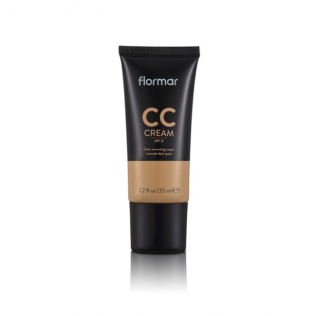 FLORMAR Крем корректирующий CC CREAM №04 ANTI-FATIGUE, 35 мл