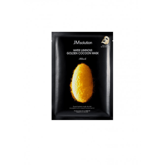 JM SOLUTION Маска тканевая Water Luminous Golden Cocoon Mask, 45g