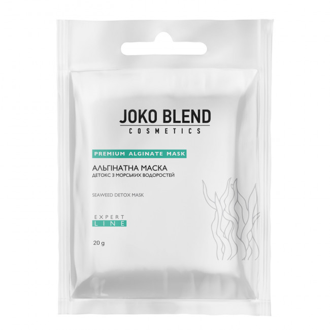 JOKO BLEND Альгінатна маска Детокс з морськими водорослями 20 г