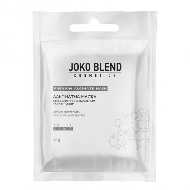 JOKO BLEND Альгінатна маска ефект ліфтингу з колагеном і еластином 20 г