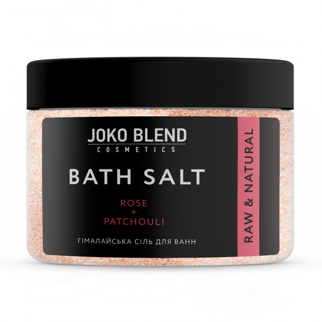 JOKO BLEND Гімалайська сіль для ванн Роза-Пачули 400 г