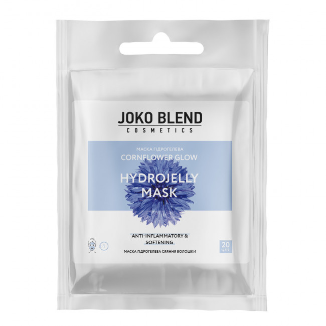 JOKO BLEND Маска гидрогелевая Cornflower Glow 20 г.