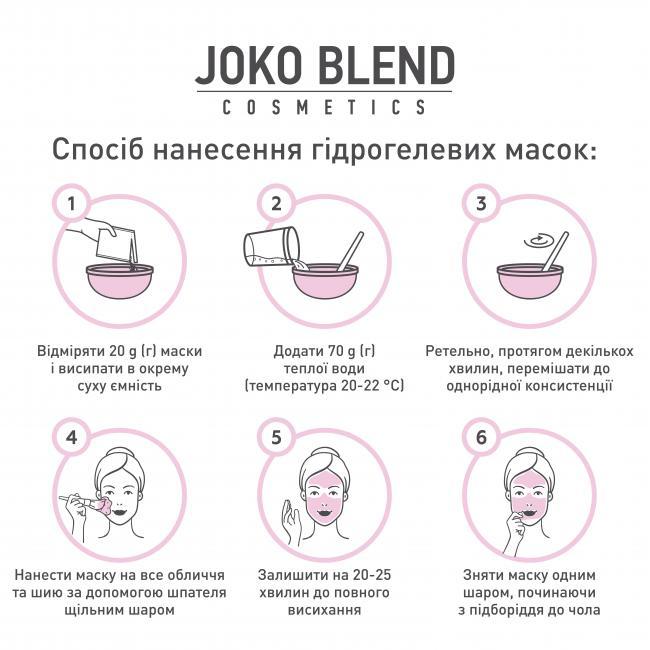 JOKO BLEND Маска гидрогелевая Goji Berry Antioxidant 20 г.