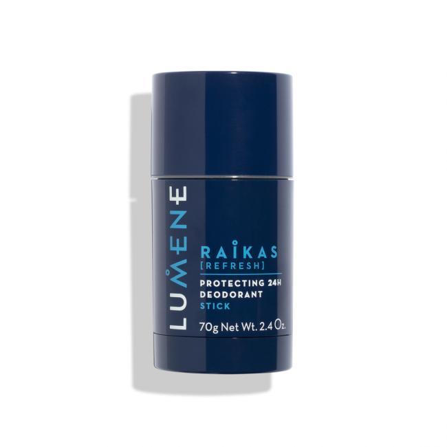 LUMENE Дезодорант-стик MEN RAIKAS защищающий 24-часового действия, 70 гр
