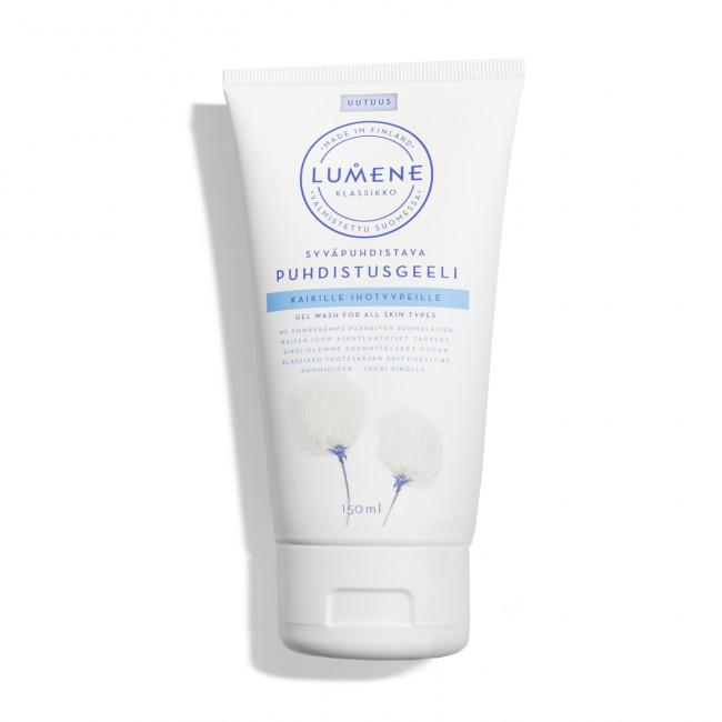 LUMENE Гель для глубокого очищения KLASSIKKO для всех типов кожи, 150 мл