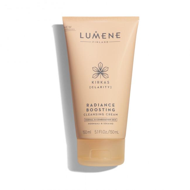 LUMENE Крем очищуючий KIRKAS для сяяння шкіри для нормальної та комбінованої шкіри, 150 мл