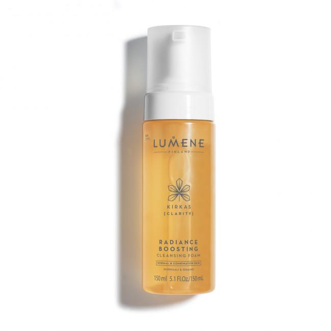 LUMENE Піна очищуюча KIRKAS для сяяння шкіри для нормальної та комбінованої шкіри, 150 мл