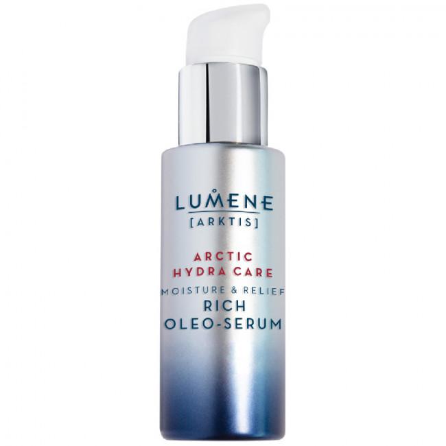 LUMENE Олія-сировотка ARKTIS зволожуюча та заспокійлива для сухої чутливої шкіри