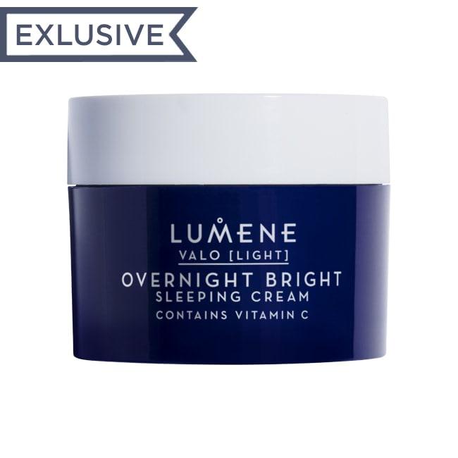 LUMENE Крем ночной VALO OVERNIGHT BRIGHT для сияния кожи (мини)
