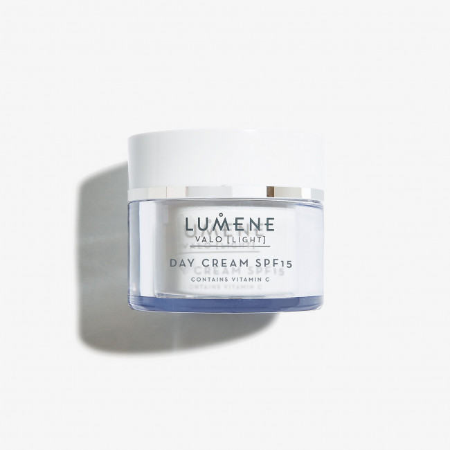 LUMENE Крем денний VALO DAY CREAM SPF 15 для сяяння шкіри, 50 мл