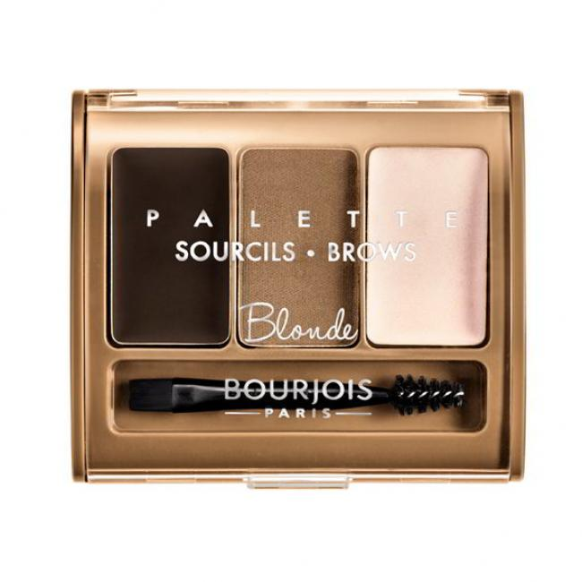 BOURJOIS Набор для моделирования бровей BROWS PALETTE Blonde