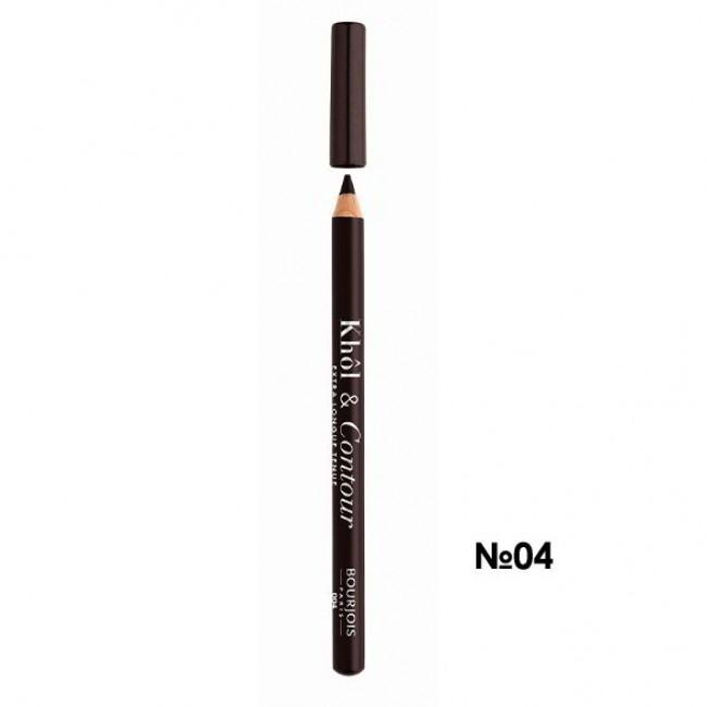 BOURJOIS Олівець для очей KHOL CONTOUR NEW 2017 контурний №04 коричневий