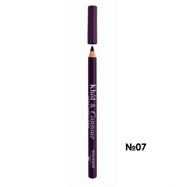 BOURJOIS Олівець для очей KHOL CONTOUR NEW 2017 контурний №07 фіолетовий