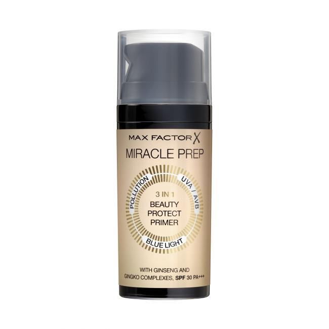 MAX FACTOR Праймер MIRACLE PREP 3in1 Beauty Protect