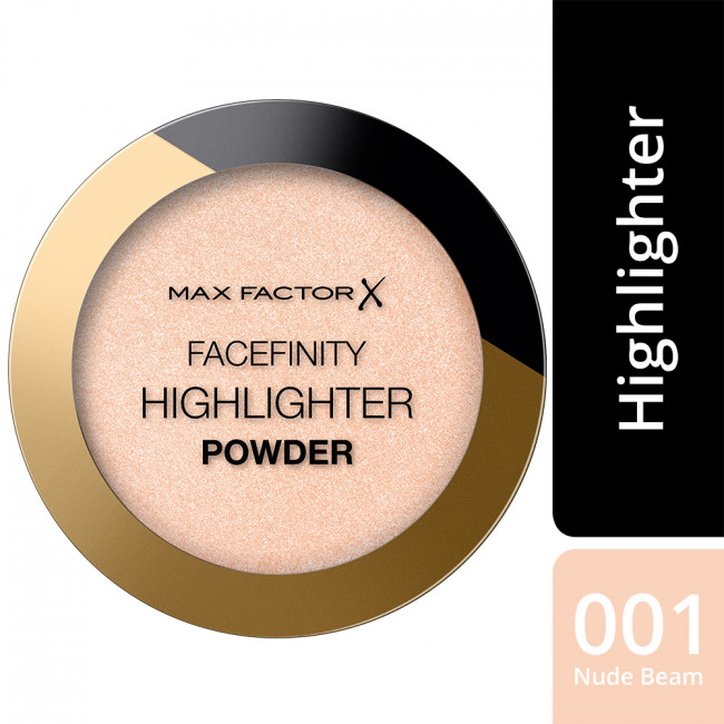 MAX FACTOR Пудра-хайлайтер FACEFINITY HIGHLIGHTER POWDER №001 Nude beam