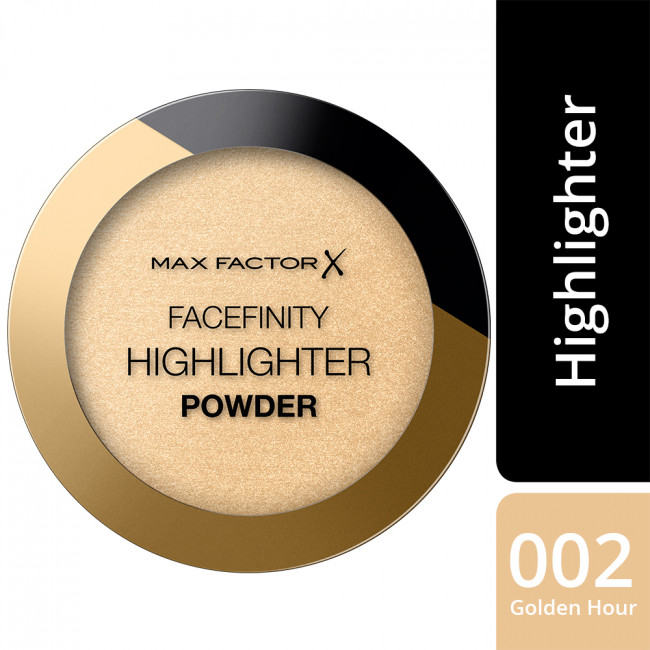 MAX FACTOR Пудра-хайлайтер FACEFINITY HIGHLIGHTER POWDER №002 Golden Hour