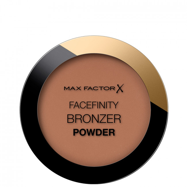 MAX FACTOR Пудра-бронзатор FACEFINITY BRONZER POWDER №002 Warm tan
