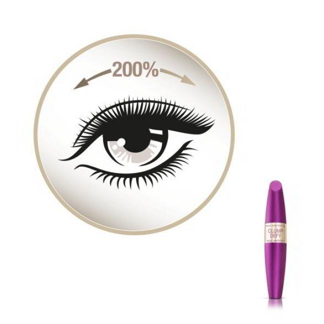 MAX FACTOR Тушь FALSE LASH EFFECT CLUMP DEFY черная, 13.1 мл