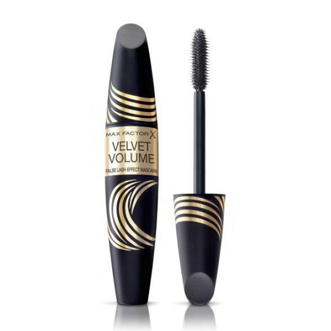 MAX FACTOR Туш FALSE LASH EFFECT VELVET об'ємна чорна, 13.1 мл