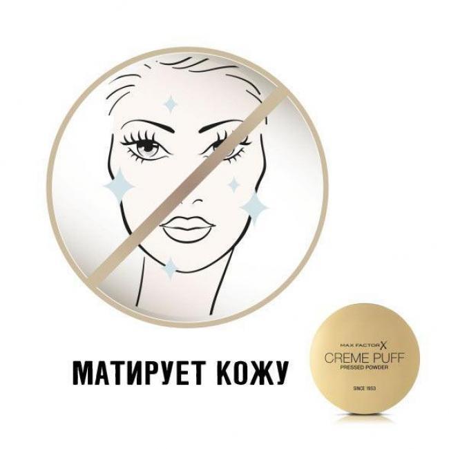 Крем-пудра компактная MAX FACTOR CREME PUFF №50