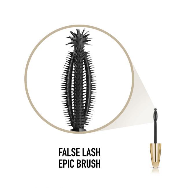 MAX FACTOR Туш FALSE LASH EFFECT EPIC супер-об'ємна чорно-коричнева №02, 13.1 мл