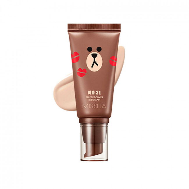 MISSHA ВВ крем Limited Edition M Perfect Cover BB Cream SPF42 PA +++ # 21, 50 мл.