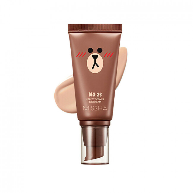 MISSHA ВВ крем Limited Edition M Perfect Cover BB Cream SPF42 PA +++ # 23 Natural Beige, 50 мл.