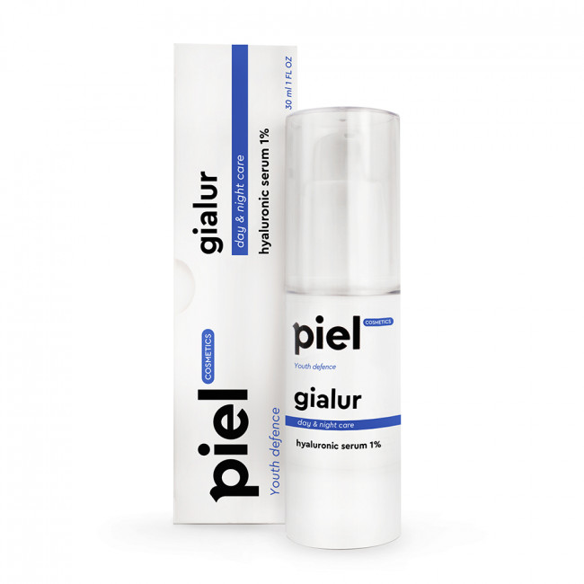 PIEL Интенсивно увлажняющая сыворотка гиалуроновой кислоты Gialur Serum 1%
