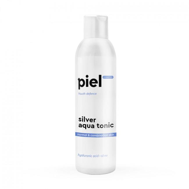 PIEL Тонік для зволоження нормальної та комбінованої шкіри Silver Aqua Tonic